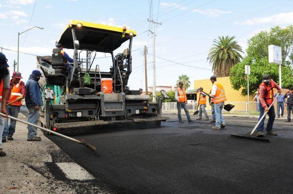 Obras de recarpeteo se realizarán por las noches en Hermosillo