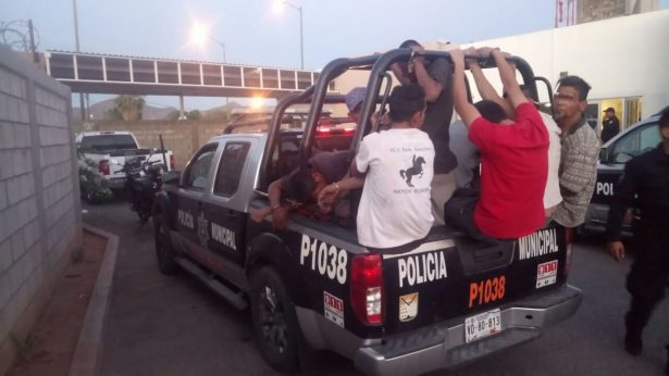 Suman 100 personas detenidas en siete días