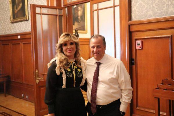 Claudia Pavlovich reitera su apoyo a Meade tras el debate presidencial