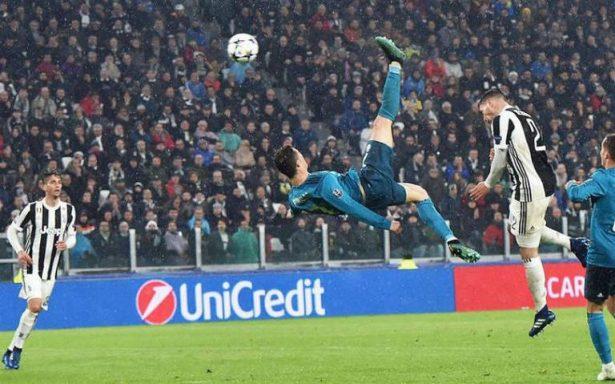 Real Madrid golea a la Juve con un gol de antología de Cristiano Ronaldo