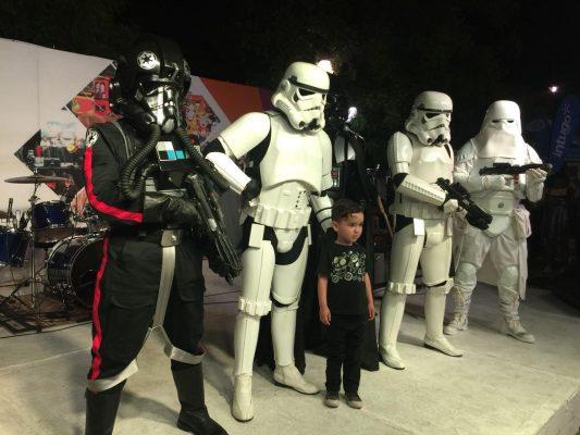 Disfrutan en Víactiva Guerra de las Galaxias
