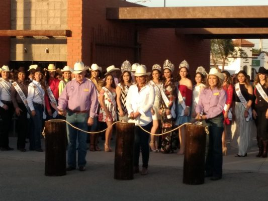 Inauguran la Expo Gan 2018 con el tradicional corte de reata