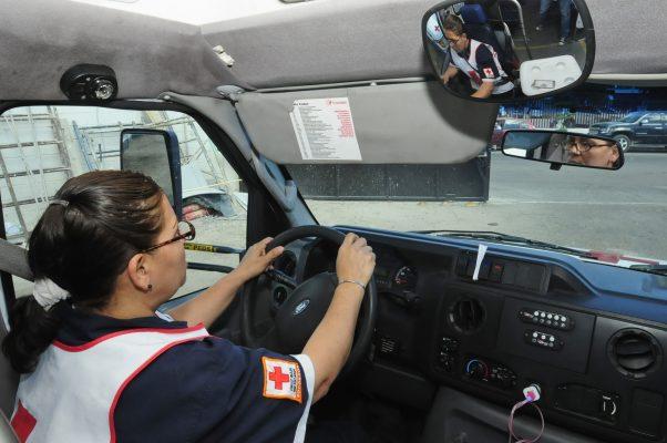 Mujeres todoterreno: Cecilia Salcido, socorrista y chofer de Cruz Roja