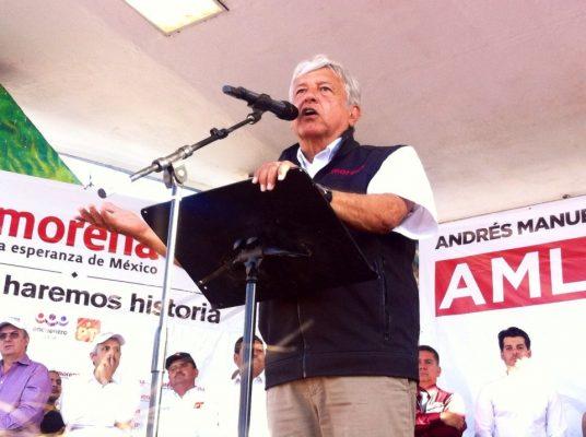 [Galería]  Andrés Manuel López Obrador de gira por SLRC y Nogales
