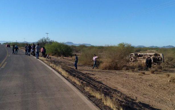Dos muertos y 9 heridos en aparatoso accidente en la Costa de Hermosillo