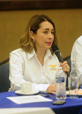 Leticia Cuesta llama a candidatos a presentar 3de3