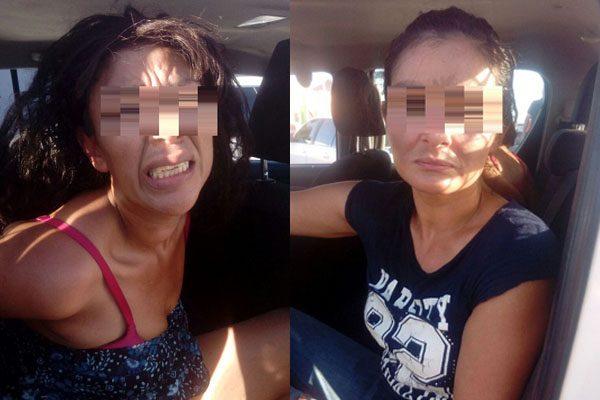 A punta de pistola dos mujeres asaltan un comercio de maquillaje
