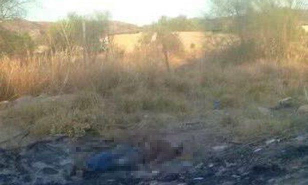 Encuentran a persona sin vida en tramo al ejido La Victoria