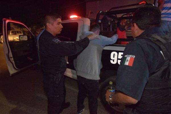 Detiene Policía Municipal a 35 infractores en operativo