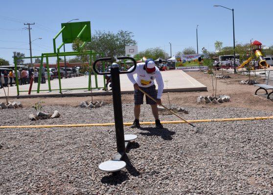 Inauguran nuevo parque en la colonia Las Minitas