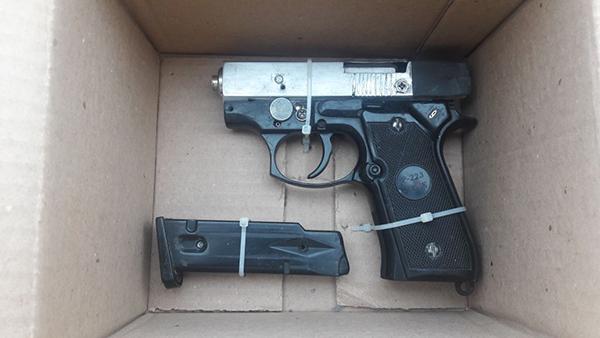 Detienen a un joven que portaba una pistola