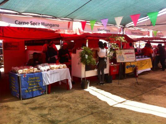 Celebran tercera muestra gastronómica en San Pedro El Saucito
