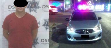 Arrestan a presunto violador de jovencita