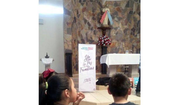 No hay denuncia por colocar propaganda política en iglesia: INE