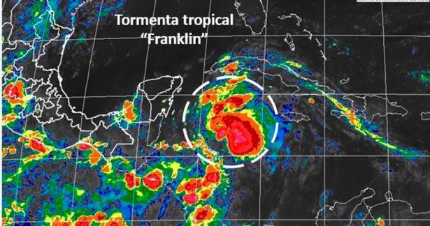 Emiten alerta amarilla en Quintana Roo por tormenta subtropical Alberto