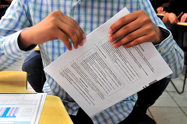 Aplican en ITH examen de ingreso
