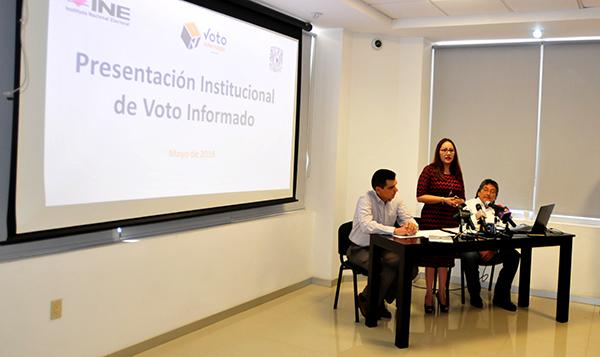 """Presenta INE plataforma """"Voto Informado TV"""""""