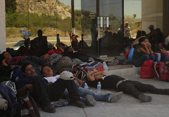 Visualizan migrantes el final de su calvario