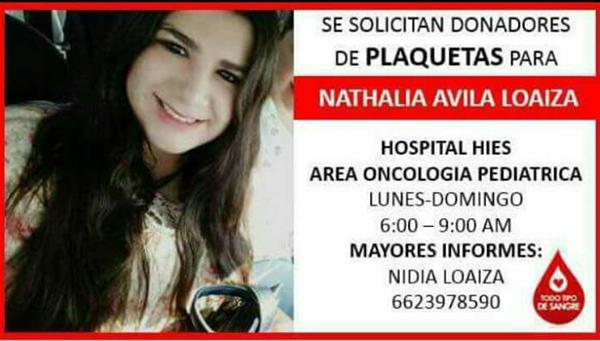 Solicitan donadores de plaquetas