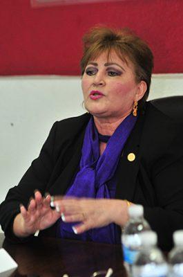 Trabaja Trinidad Garzón en reforzar campaña de AMLO