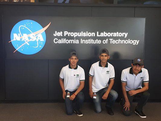 Viven sonorenses experiencia NASA