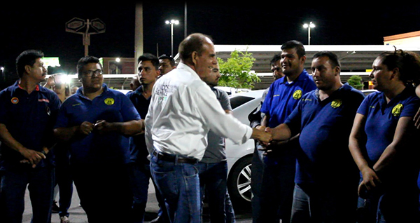 Busca regularizar taxis colectivos: Vicente Solís