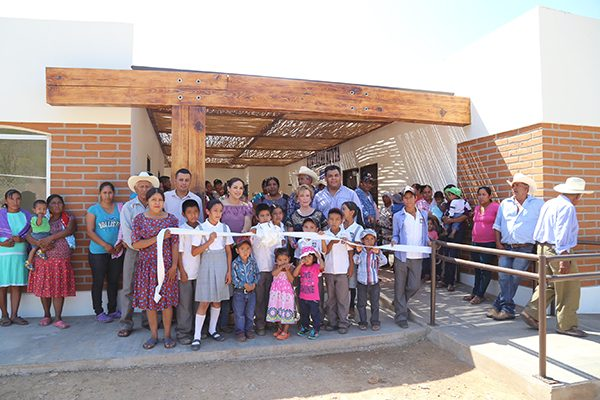 Inauguran centros comunitarios para población guarijío