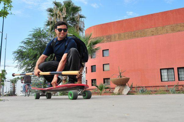 """[Galería] Es José Valenzuela pionero en """"Street Stand Up Paddle"""""""