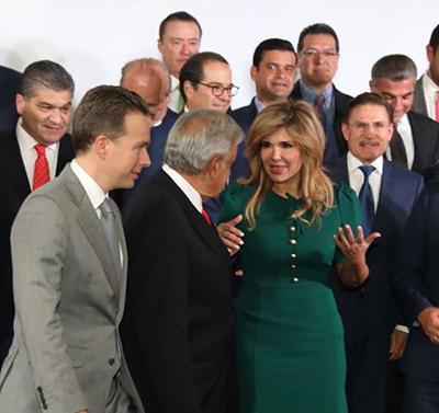Acuerdan Gobernadora y López Obrador trabajar por el bien de Sonora