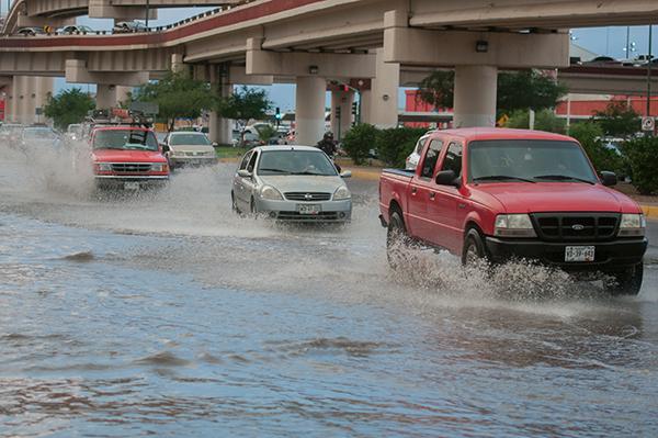 Acumula lluvia  de ayer 7.9 milímetros
