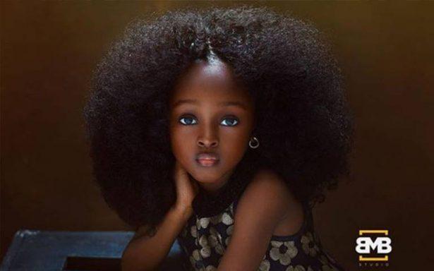 La niña más bonita del mundo vive en Nigeria