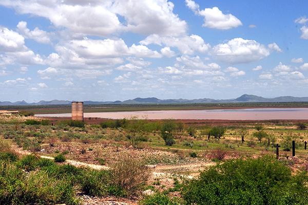 [Galería] Sigue sequía en presa Abelardo L. Rodríguez