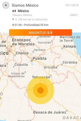 Se activan protocolos de monitoreo en Oaxaca por sismo: CEPCO