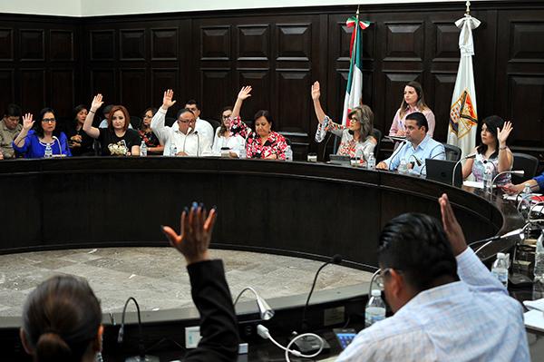 Modifican dictamen en sesión de Cabildo