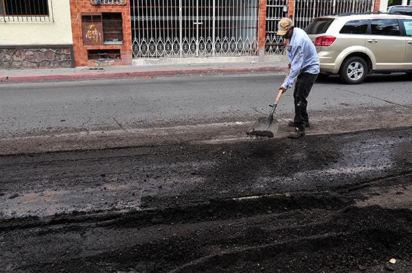 Rehabilitarán vialidades afectadas por las lluvias