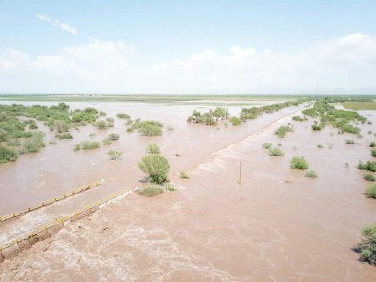 Apoyará DIF a familias afectadas por inundaciones en Guaymas y Empalme