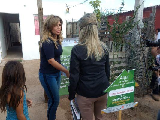 Entrega Gobernadora acciones de vivienda a población vulnerable