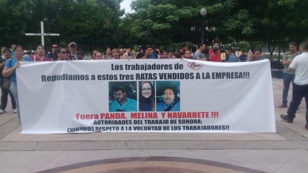 Denuncian trabajadores de Ricer abusos de su Sindicato