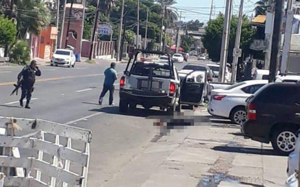 Deja balacera al menos cinco agentes de Seguridad local sin vida
