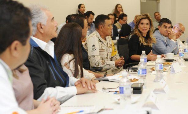 """Preside Gobernadora reunión de emergencia por """"Sergio"""""""