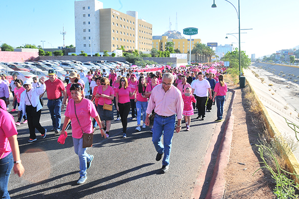 Realizará el IMSS este viernes la Caminata Rosa