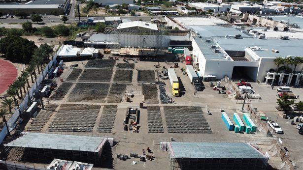 """[Galería] Listo el escenario para """"El Sol"""" en Hermosillo"""