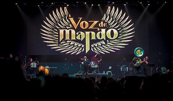 Voz de Mando va al Grammy