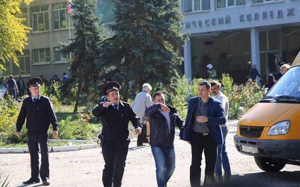 Así fue el atentado perpetrado por estudiante que dejó 19 muertos en escuela de Crimea