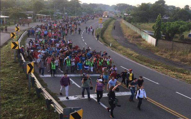 Caravana Migrante reanuda su viaje, avanzan hacia Tapachula