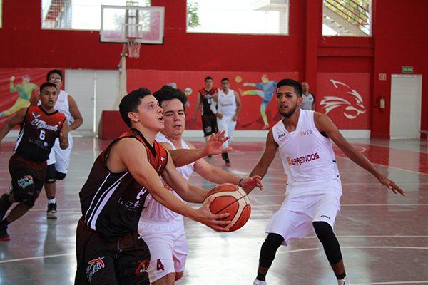 Buena jornada en el basquet universitario