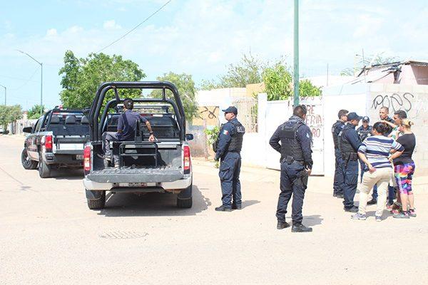 Arrestan a una persona  por violencia intrafamiliar
