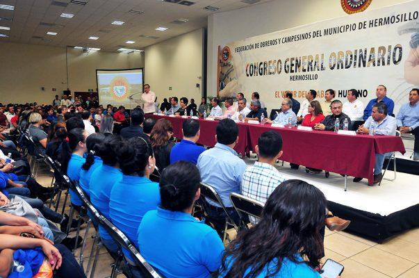 Aurelio Flores nuevo líder de CTM local