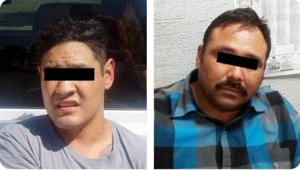 Detienen a dos sujetos responsables de golpiza a guardias de seguridad