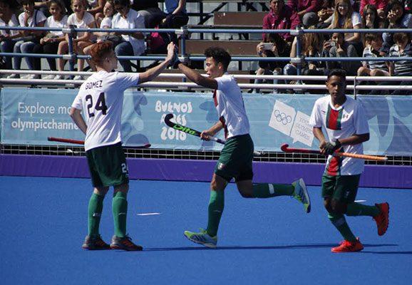 México termina noveno  en hockey sobre pasto
